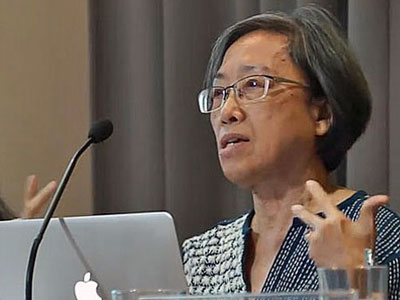 Ng Shui Meng speaks at a press conference in Bangkok, Thailand, Dec. 7, 2017.
